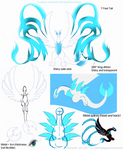 Lugia Chan's Dragon Form (V. 2) Character Sheet by Eternalskyy