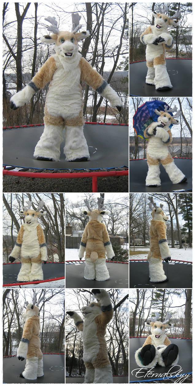 OOAK Reindeer Fursuit (2013)