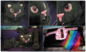 Sparkley Grey Poptart Nyan Cat Partial (2010)