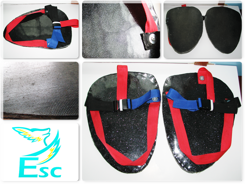 Eternal Skyy Costumes (ESC) Fursuit Sandals by Eternalskyy