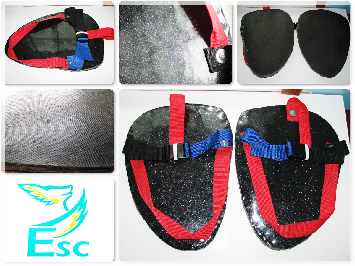 Eternal Skyy Costumes (ESC) Fursuit Sandals by Eternalskyy