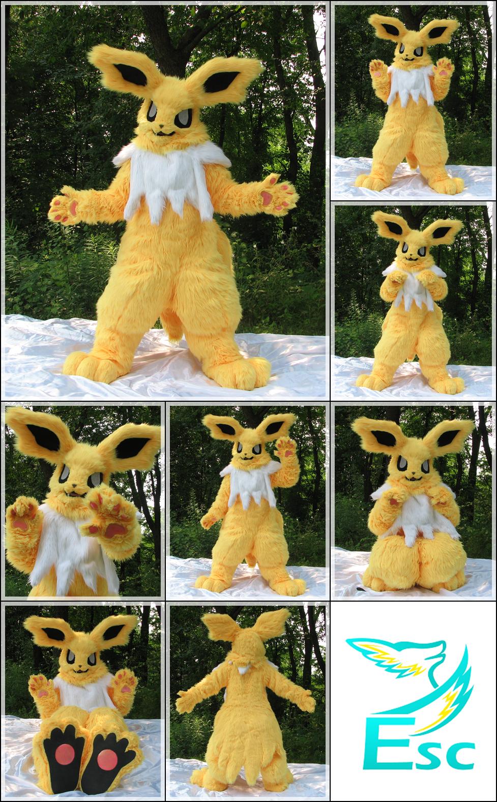 Jolteon Pokemon Fursuit - Modified (2015)