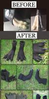Black Crow Feet - Modification Project