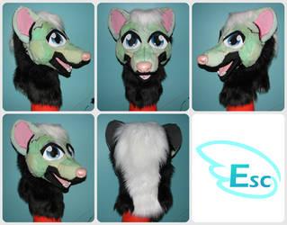 Kamon the Skunk -  Modified Foam Base by Eternalskyy