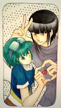 Lugia Chan and Sacrifice - Art By Taykudo