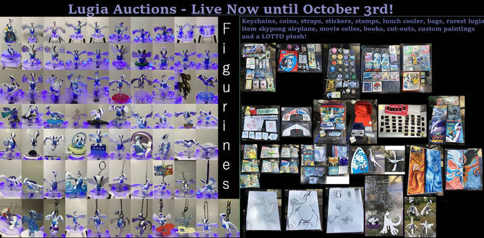 HUGE Lugia Auctions: 73+ Figurines and More!