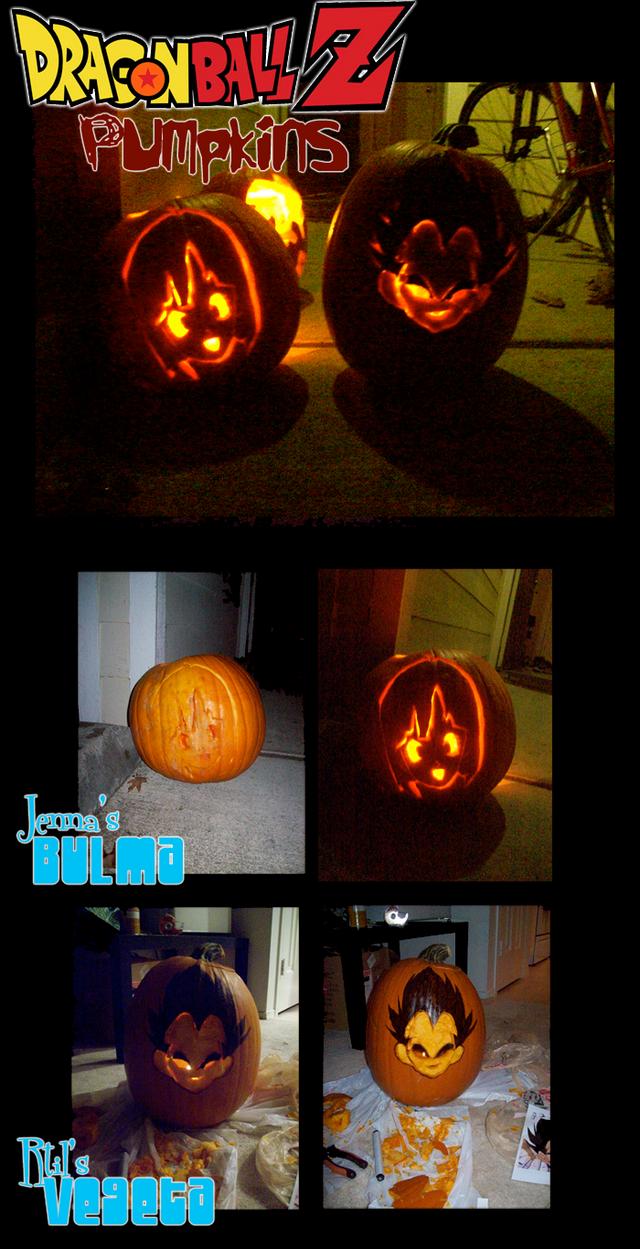 Vegeta Pumpkin Carving: Dragonball Z Pumpkins By Channel-Square On DeviantArt