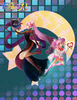 Chibiusa and Wicked Lady by Channel-Square