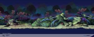 Avatar Kinect Gothic BG layer