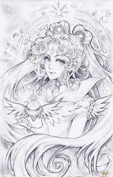 Sailor Cosmos Sketch Commission