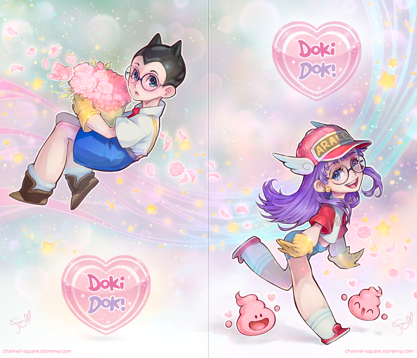 Dr Slump DokiDoki Cards by Channel-Square
