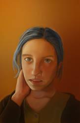 Self Portrait by Evergreena