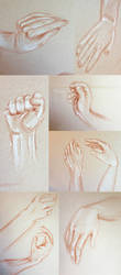 Hands by Evergreena