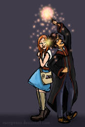 James and Lily by Evergreena