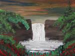151 Waterfall in the Backyard by mengenstrom