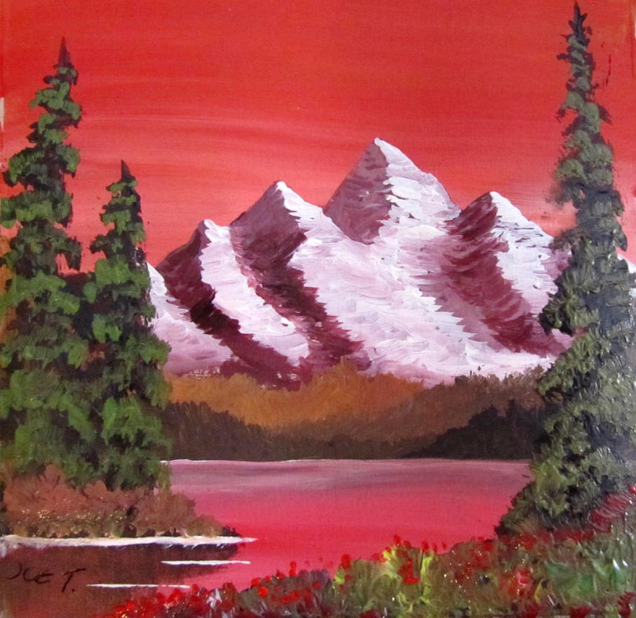 395 Miniature - Mountain Red by mengenstrom
