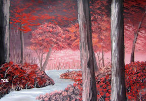 720 Red Forest by mengenstrom