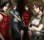 Resident Evil - The Ladies