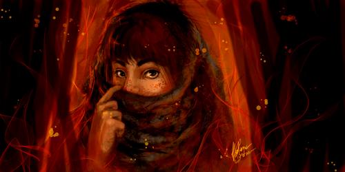 Wild Eyes by AkaiSoul