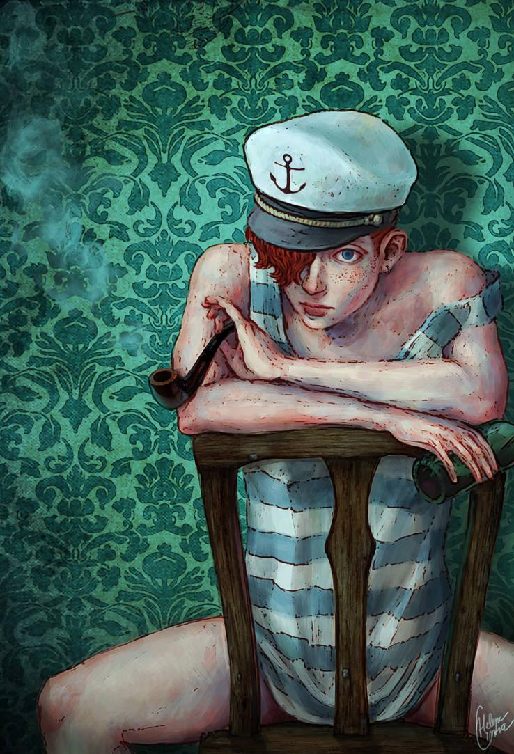Sally was a sailor by AkaiSoul