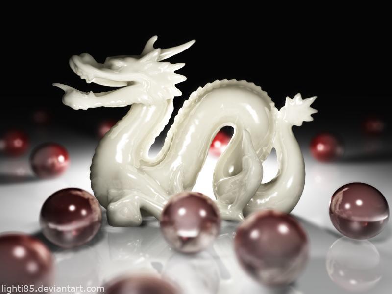 Porcelain Dragon by Lighti85