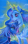 Princess sisters together