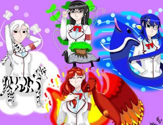 The Four Guadians by AnimeKatieKitty
