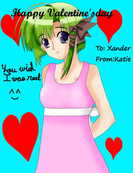 Valentine for Xander by AnimeKatieKitty