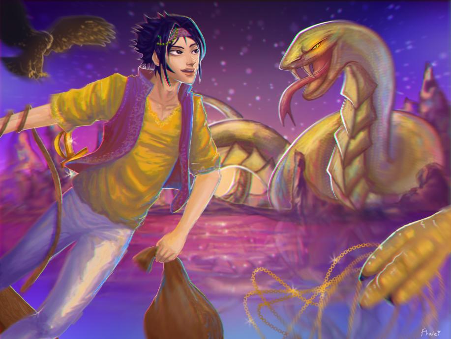 Voyage by Fhalei