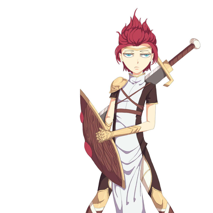 Warrior Kid by Fhalei