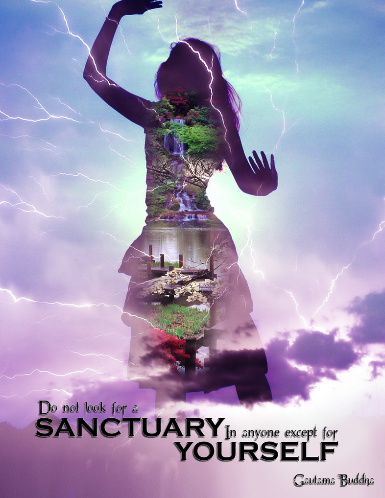 Sanctuary Poster by Mellomeme