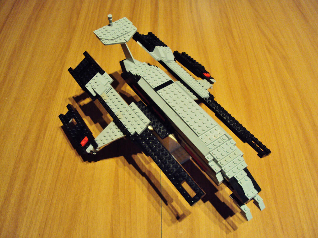 Ssv Normandy Sr 2 18 Ship Replica: SSV Normandy SR-1 Lego By Iakko92 On DeviantArt