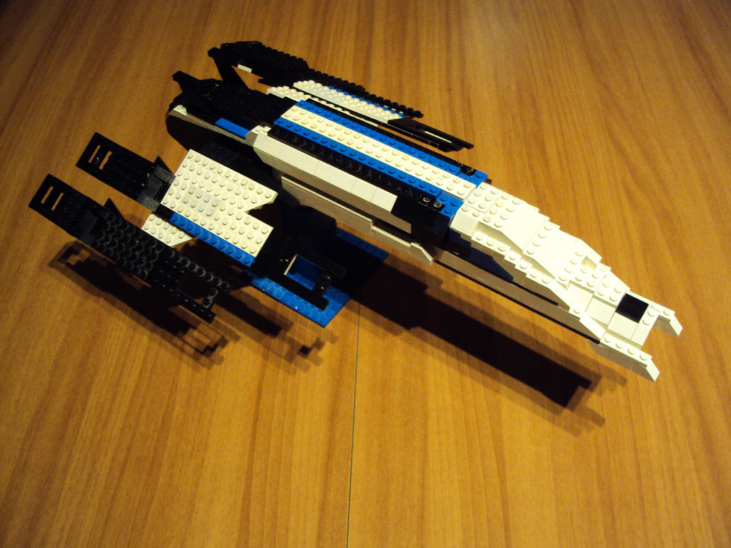 Ssv Normandy Sr 2 18 Ship Replica: SSV Normandy SR-2 Alliance Lego By Iakko92 On DeviantArt