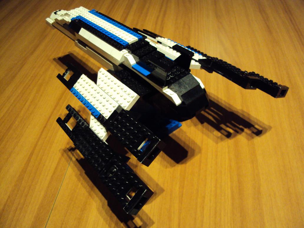 SSV Normandy SR-2 Alliance Lego By Iakko92 On DeviantArt
