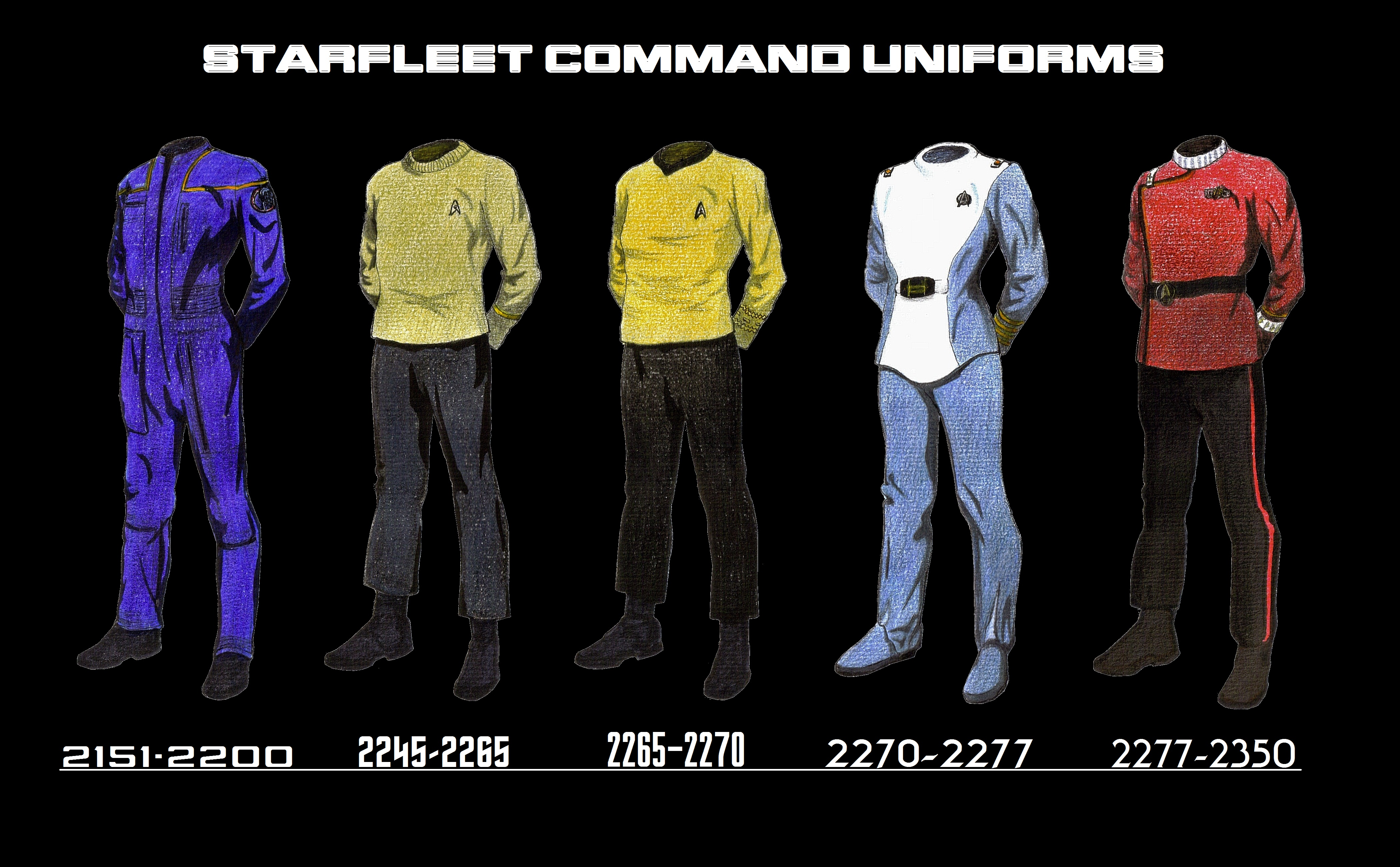 Pin Starfleet Uniforms on Pinterest