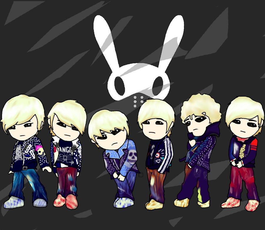 B A P chibi by JunMinseung  B.a.p Chibi