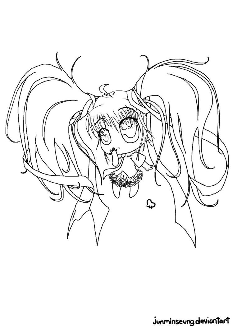 hatsune miku chibi coloring pages - photo#32