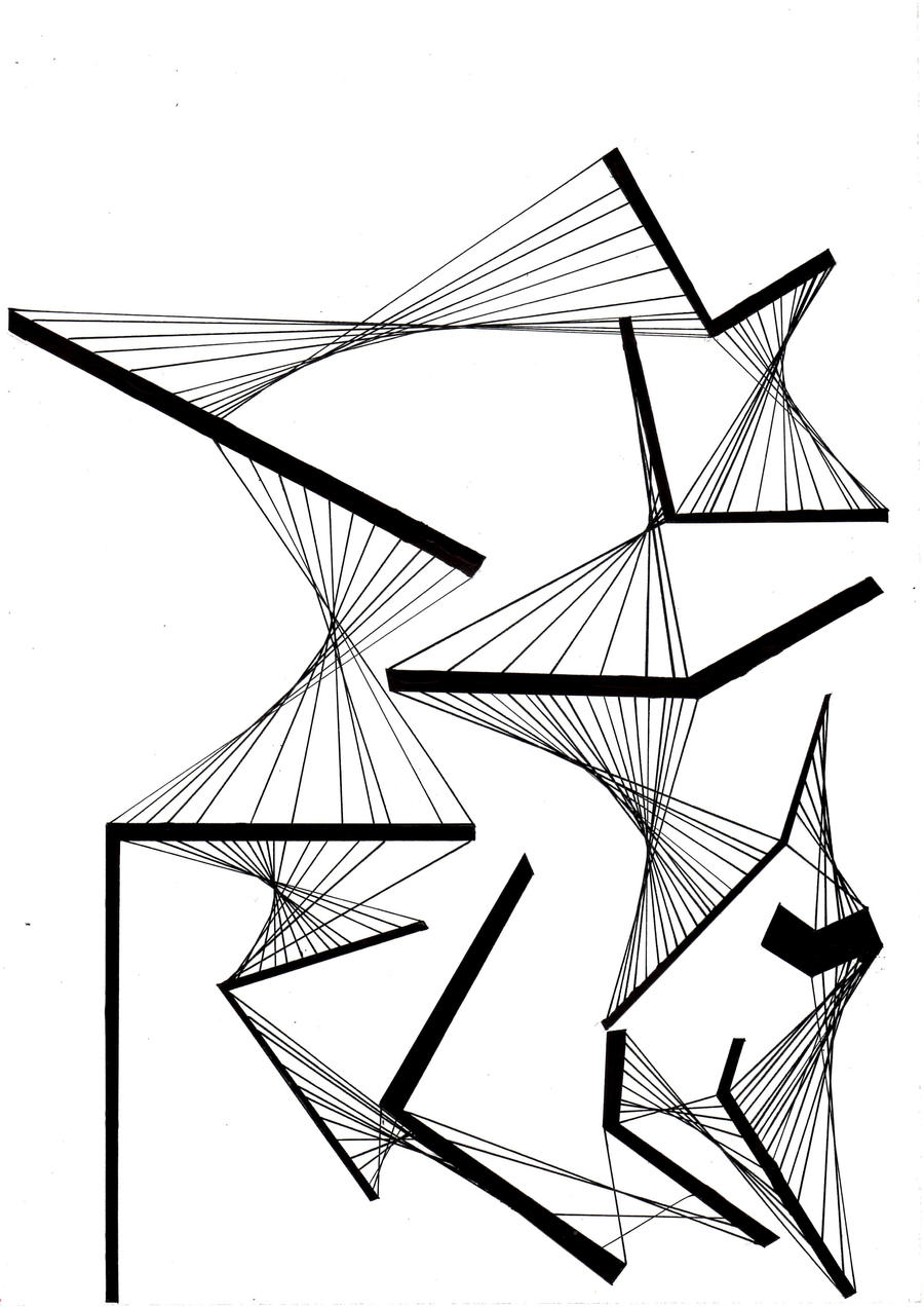 Composition Of Lines In Art : Composition of a line by benedhikuthin on deviantart