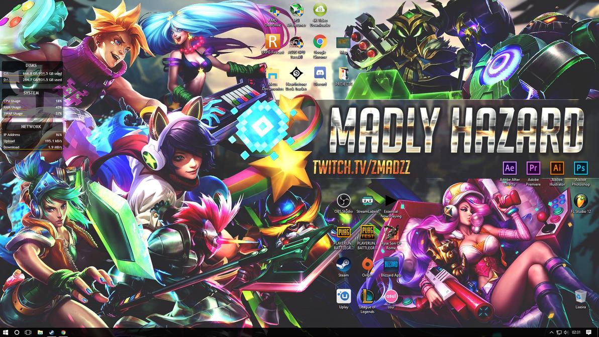 My Desktop by lolmadz