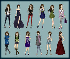 Fashion Illustrations by LouSasa