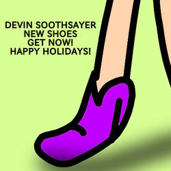 DEVIN SOOTHSAYER NEW SHOES GET NOW! HAPPY HOLIDAYS