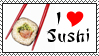 I :heart: Sushi by Alys-Stamps