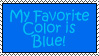 Colors - Blue by Alys-Stamps