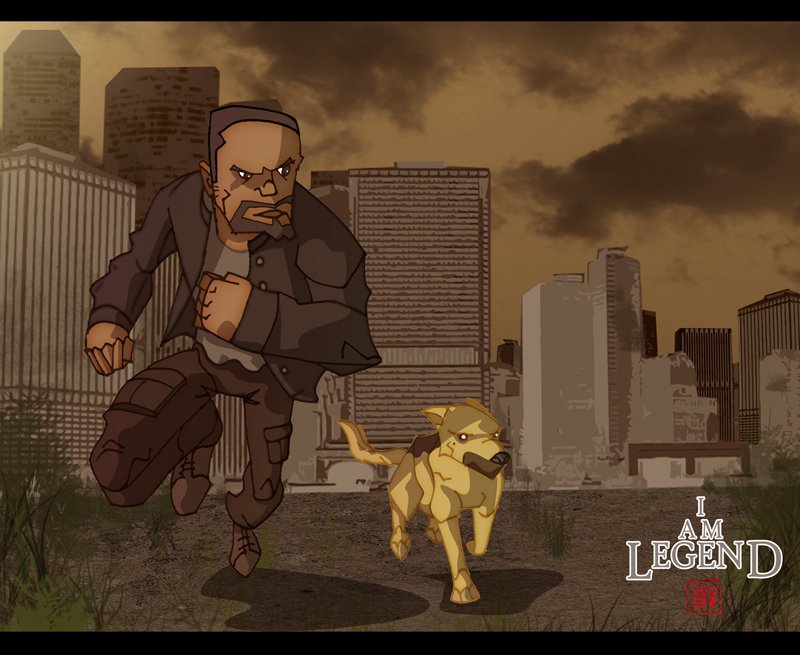 I AM LEGEND  BABY by  I Am Legend Background