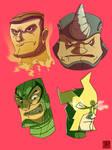 Marvel Heads 2