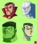 Marvel Heads 5