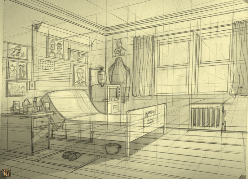 Room Concept V2 Side A by CheungKinMen