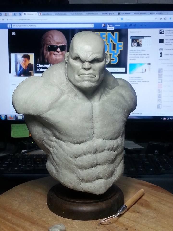 1/6 scale Hulk Bust 2 by CheungKinMen