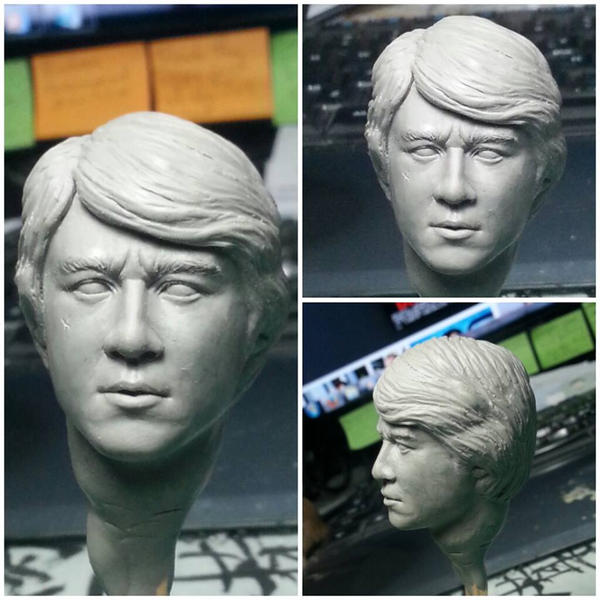1/6 scale Jackie Chan WIP 2 by CheungKinMen