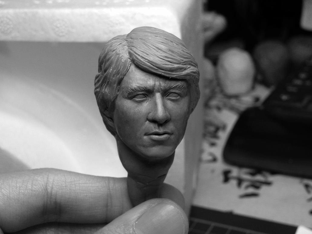 1/6 scale Jackie Chan WIP 3 by CheungKinMen